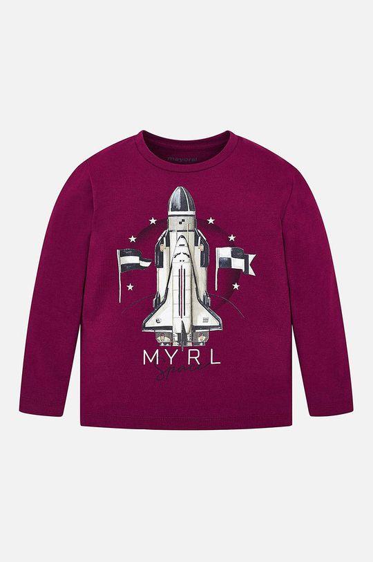 Mayoral - Detské tričko s dlhým rukávom 92 - 134 cm gaštanová