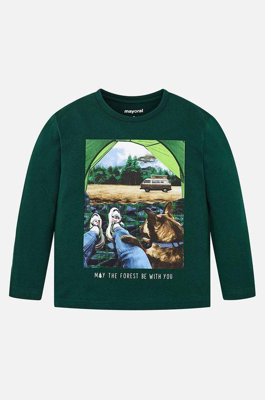 Mayoral - Detské tričko s dlhým rukávom 92 - 134 cm grafitová