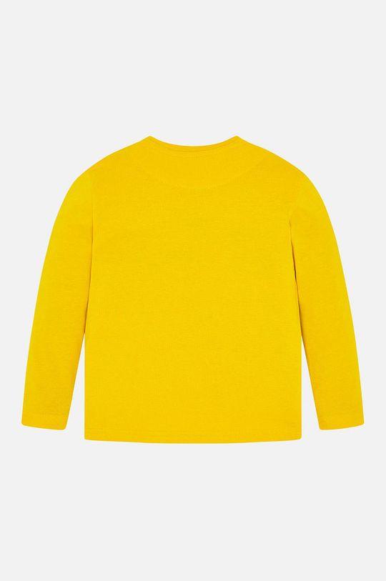 Mayoral - Detské tričko s dlhým rukávom 92 - 134 cm jantárová