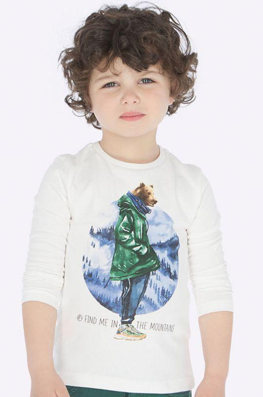biela Mayoral - Detské tričko s dlhým rukávom 92 - 134 cm Chlapčenský