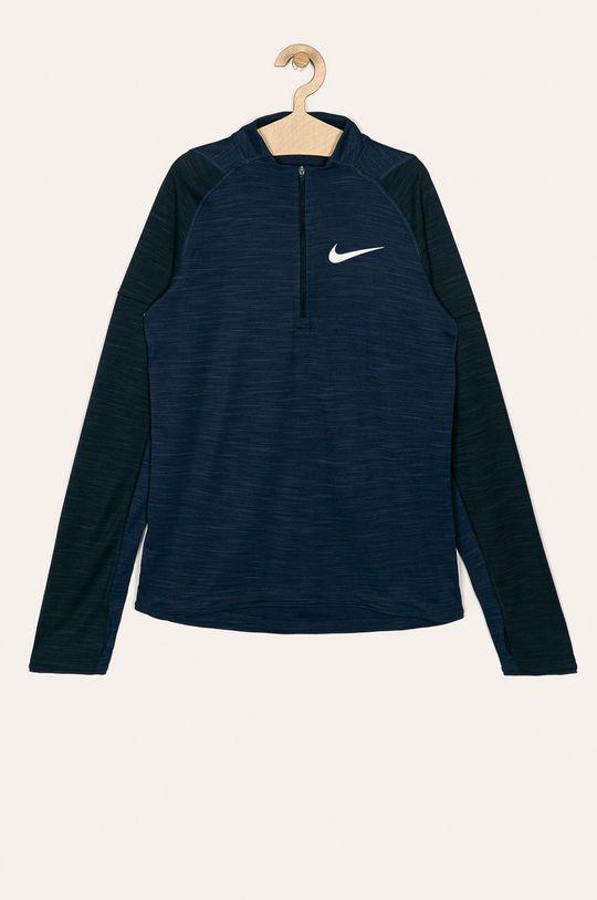 tmavomodrá Nike Kids - Detské tričko s dlhým rukávom 122-170 cm Chlapčenský