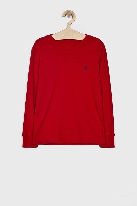 червоний Polo Ralph Lauren - Дитячий лонгслів 134-176 cm Для хлопчиків