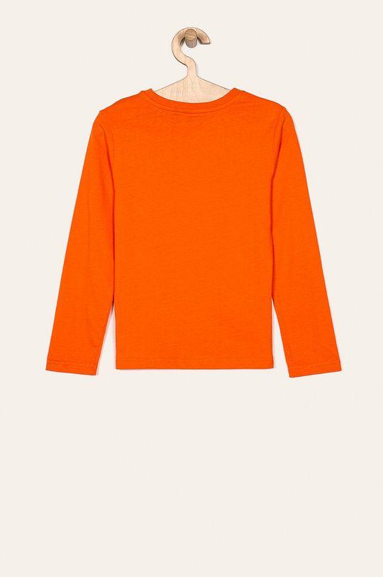G-Star Raw - Detské tričko s dlhým rukávom 128-176 cm mandarínková
