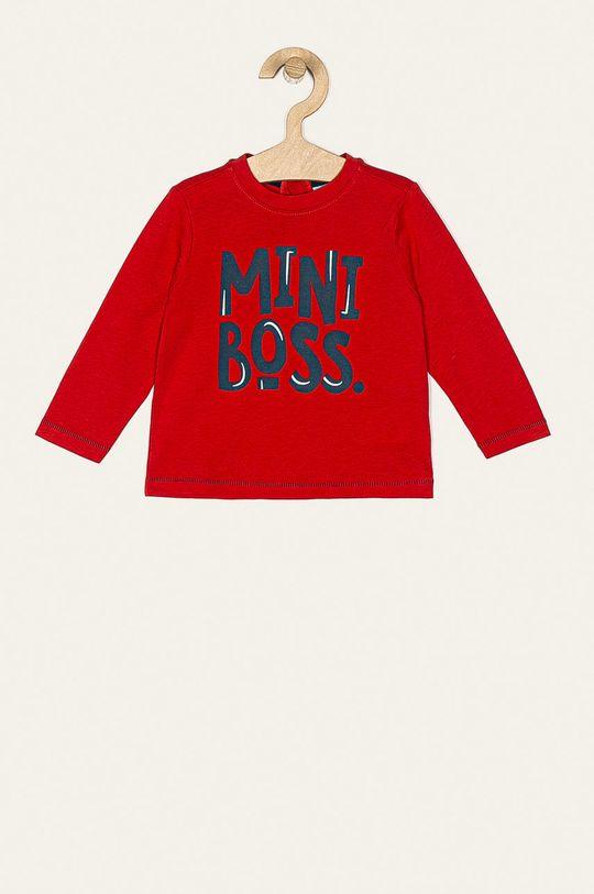 červená Blukids - Detské tričko s dlhým rukávom 80-98 cm Chlapčenský
