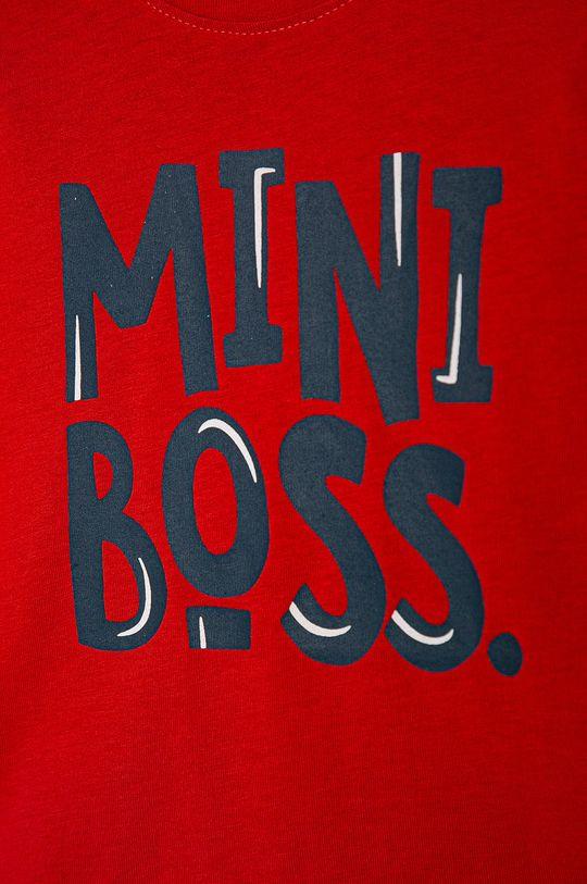 Blukids - Detské tričko s dlhým rukávom 80-98 cm červená