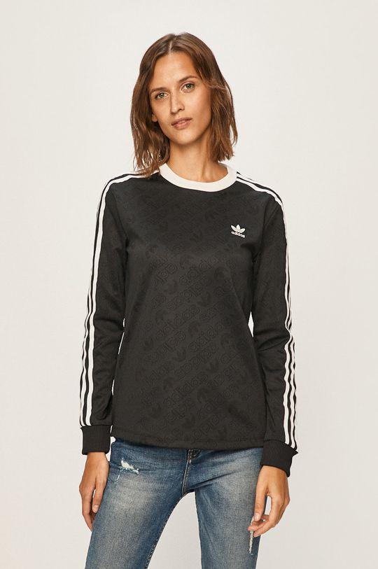 čierna adidas Originals - Tričko s dlhým rukávom Dámsky