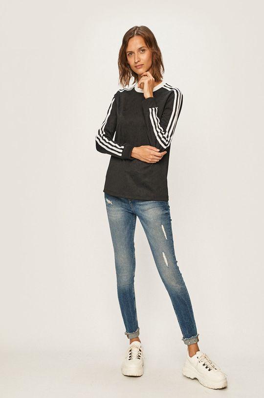 adidas Originals - Tričko s dlhým rukávom čierna