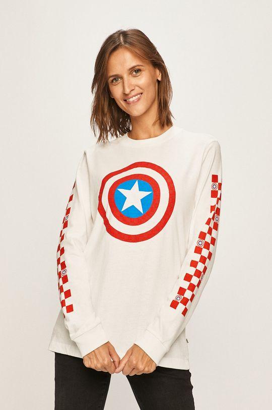 biela Vans - Tričko s dlhým rúkavom x Marvel Dámsky