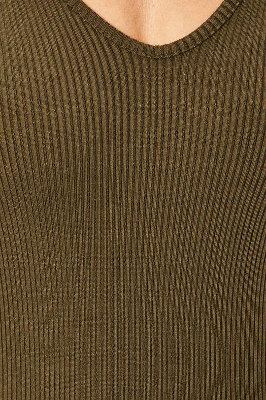 Pieces - Tričko s dlhým rukávom 17100026