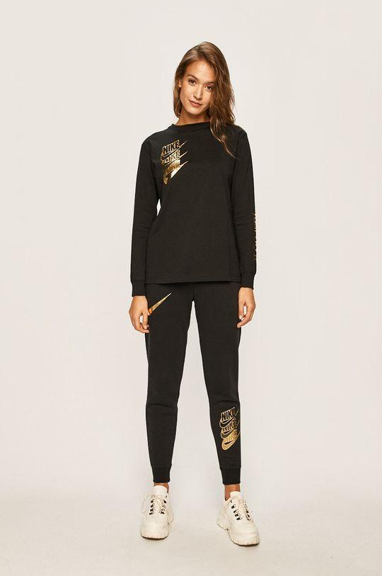 Nike Sportswear - Tričko s dlouhým rukávem černá