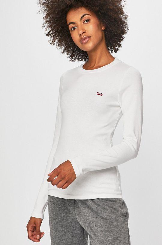 biela Levi's - Tričko s dlhým rúkavom Dámsky