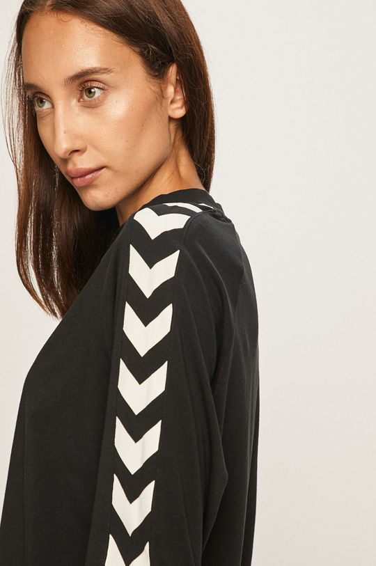 čierna Hummel - Tričko s dlhým rúkavom