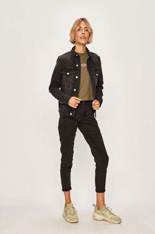Calvin Klein Jeans - Longsleeve verde