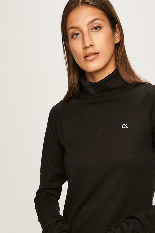 černá Calvin Klein Performance - Mikina