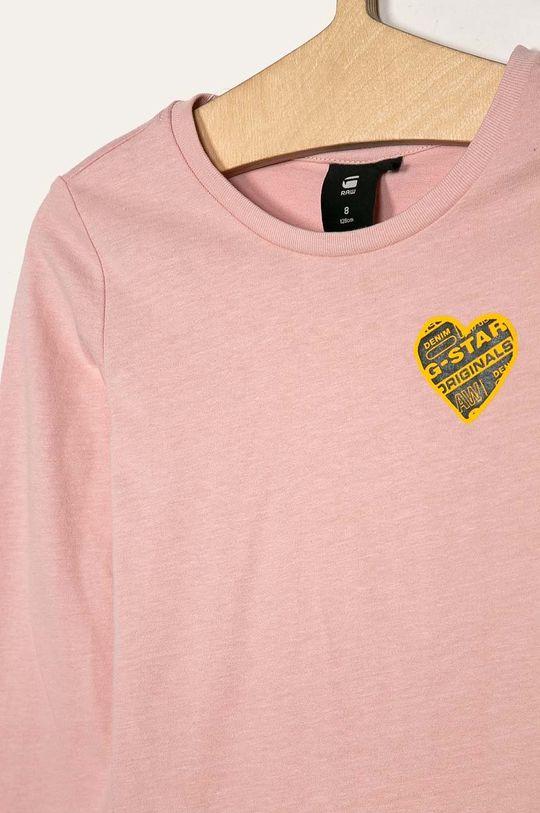 G-Star Raw - Detské tričko s dlhým rukávom 128-164 cm  Základná látka: 46% Bavlna, 54% Polyester