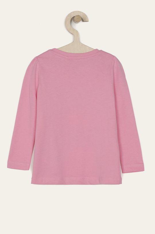 Name it - Detské tričko s dlhým rukávom 92-128 cm ružová