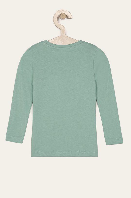 Name it - Detské tričko s dlhým rukávom 92-128 cm zelená