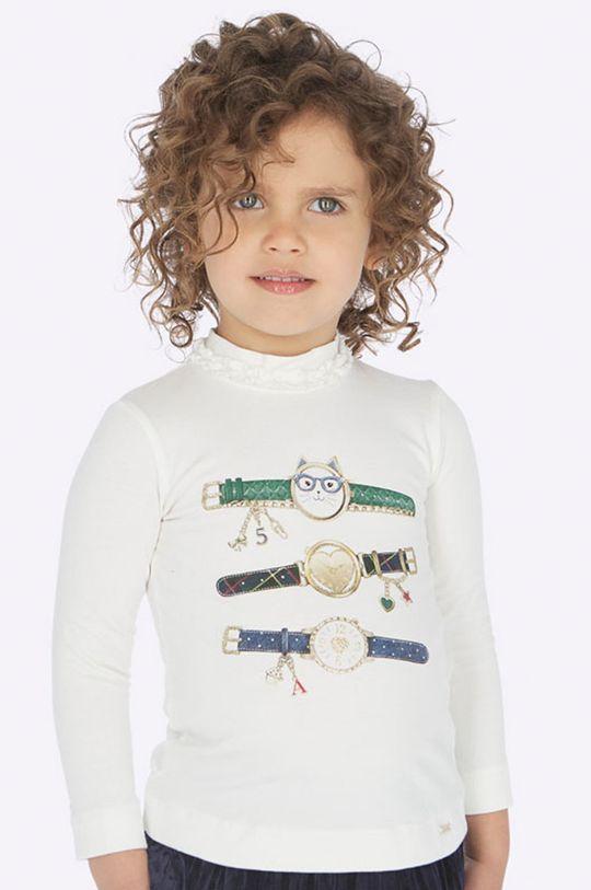 tmavozelená Mayoral - Detské tričko s dlhým rukávom 92 - 134 cm Dievčenský