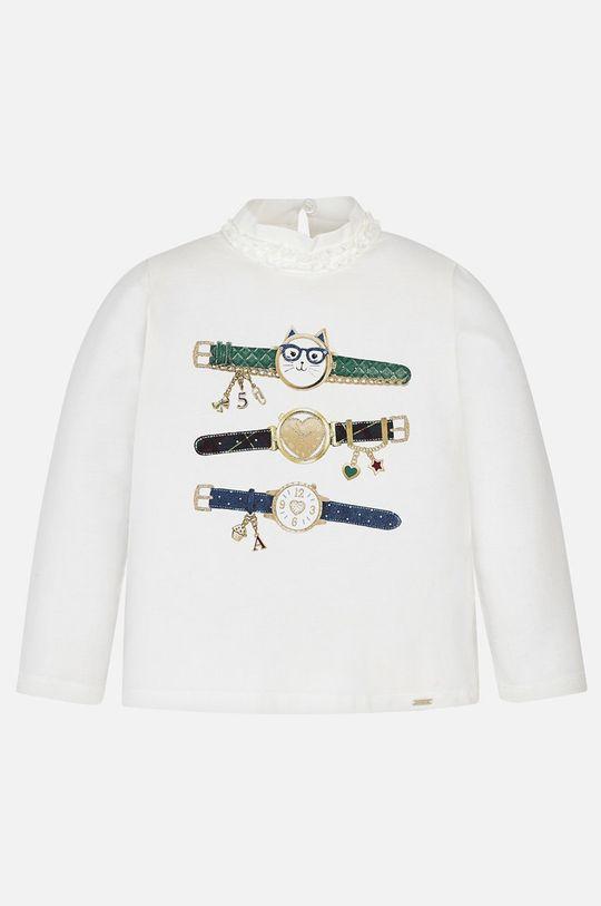 Mayoral - Detské tričko s dlhým rukávom 92 - 134 cm tmavozelená