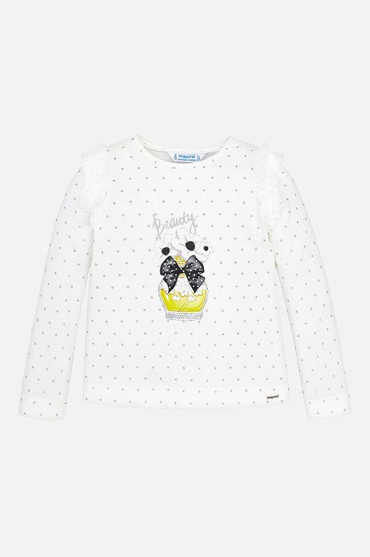 Mayoral - Detské tričko s dlhým rukávom 92 - 134 cm strieborná