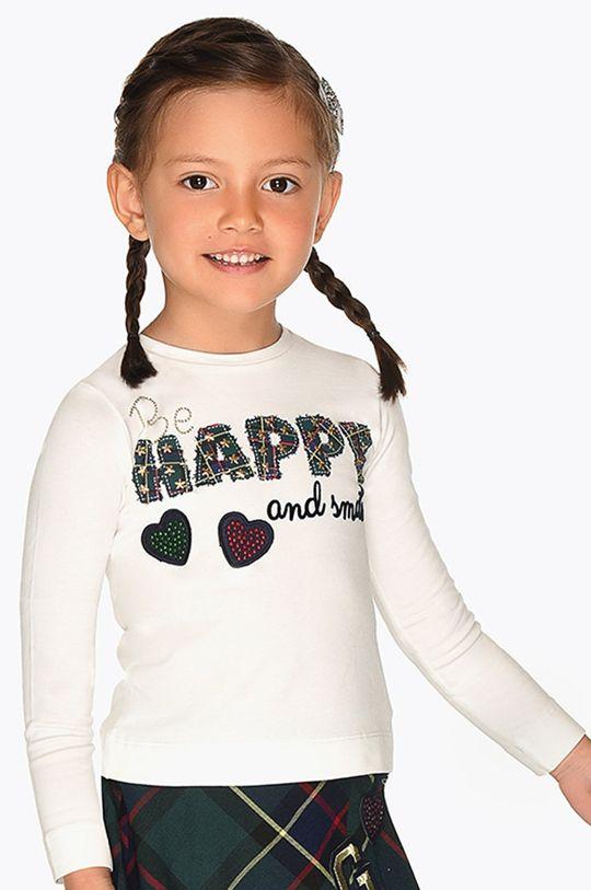 krémová Mayoral - Detské tričko s dlhým rukávom 92 - 134 cm Dievčenský