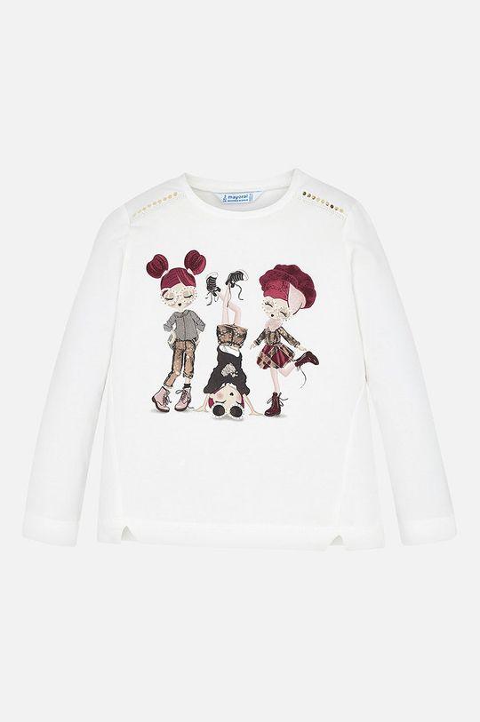 gaštanová Mayoral - Detské tričko s dlhým rukávom 92-134 cm Dievčenský