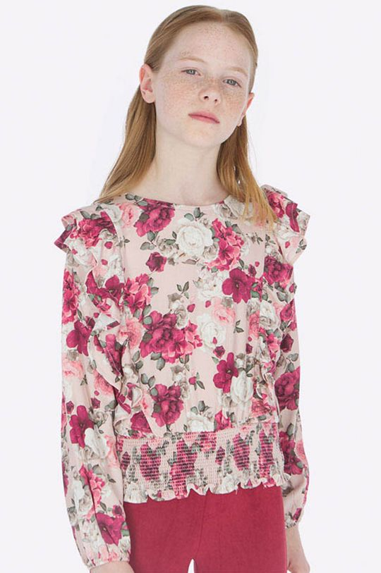 ružová Mayoral – Detská blúzka 128-167 cm Dievčenský