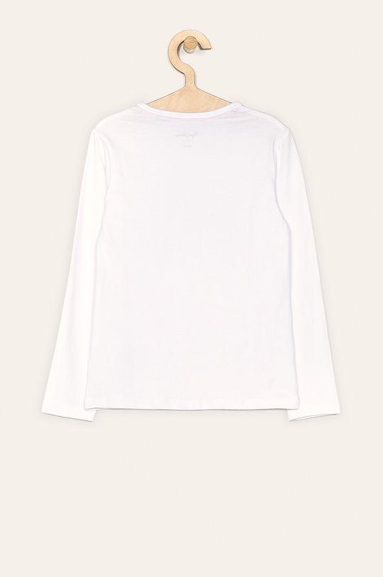 Pepe Jeans - Detské tričko s dlhým rukávom Makeba 128-180 cm biela