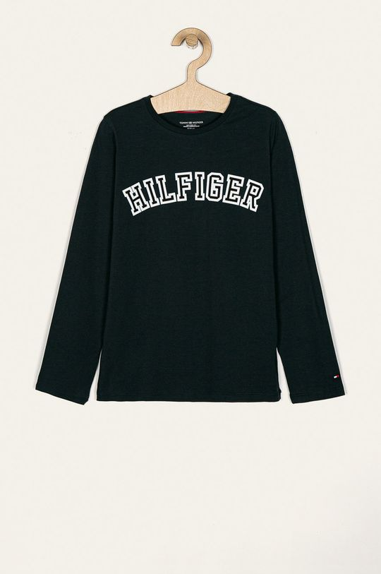 тъмносин Tommy Hilfiger - Детска блуза с дълги ръкави 128-164 cm Момиче