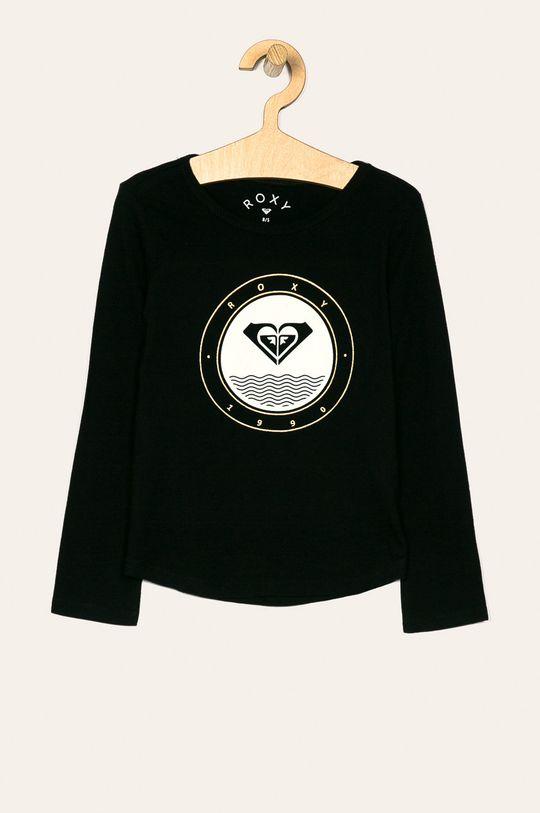 čierna Roxy - Detské tričko s dlhým rukávom 128-176 cm Dievčenský