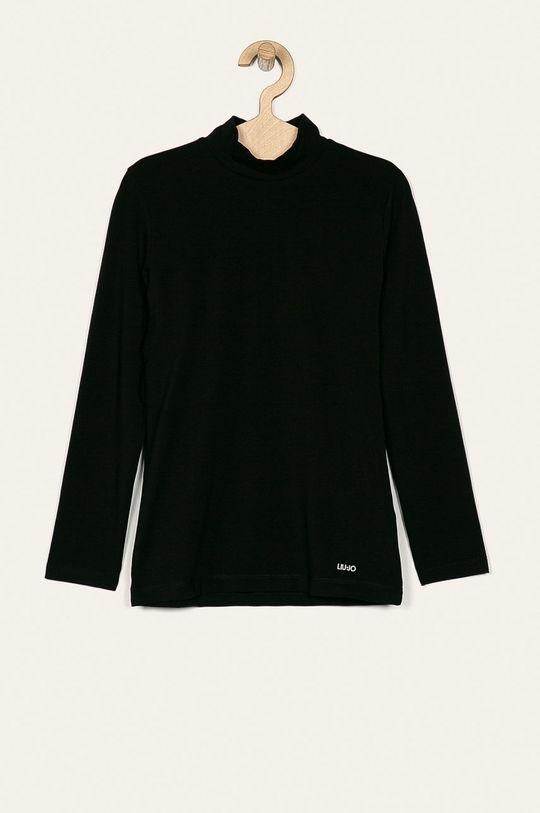 čierna Liu Jo - Detské tričko s dlhým rukávom 128-170 cm Dievčenský