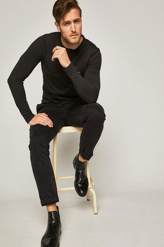 Tommy Hilfiger - Longsleeve negru