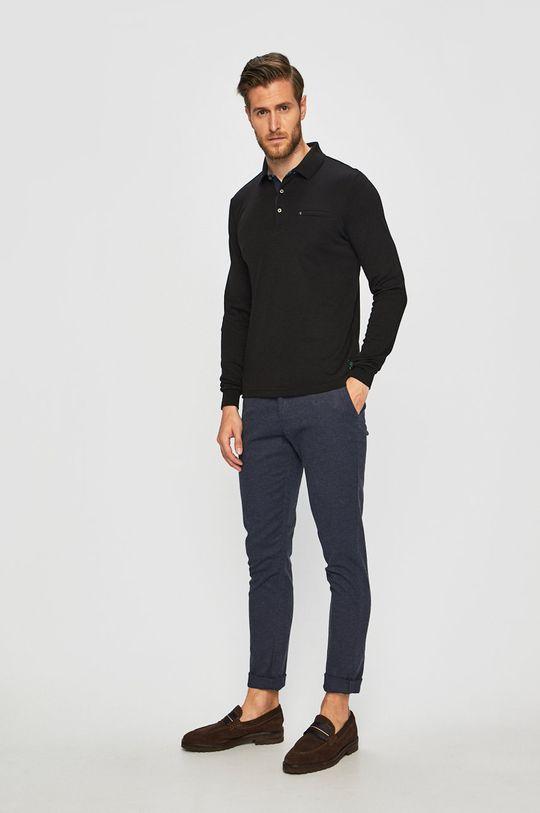 Pierre Cardin - Tričko s dlouhým rukávem černá