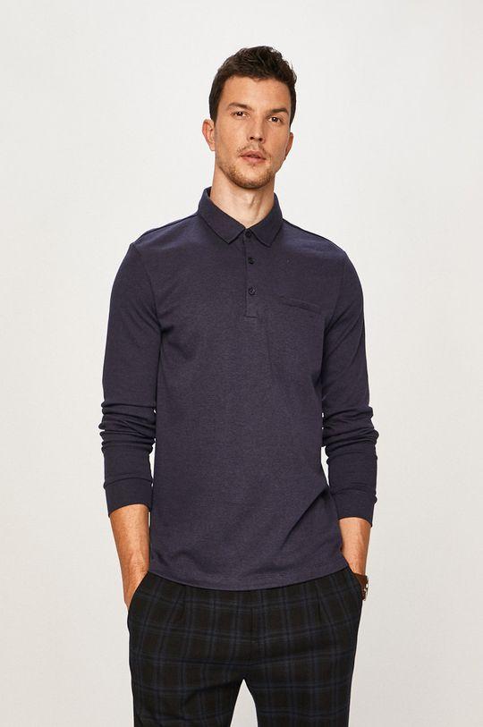 námořnická modř Pierre Cardin - Tričko s dlouhým rukávem Pánský