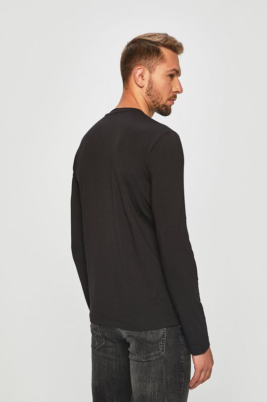 EA7 Emporio Armani - Tričko s dlouhým rukávem  95% Bavlna, 5% Elastan
