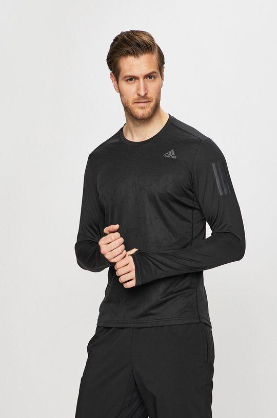 fekete adidas Performance - Hosszú ujjú Férfi
