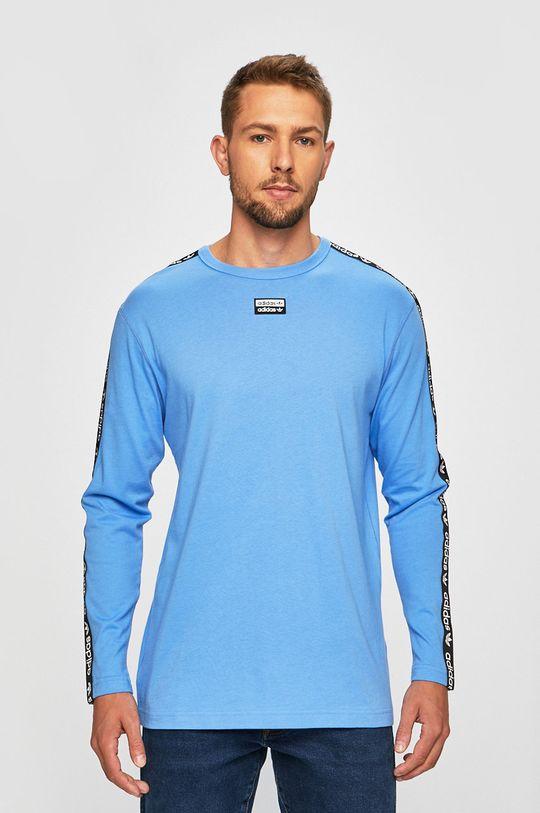 adidas Originals - Tričko s dlouhým rukávem modrá