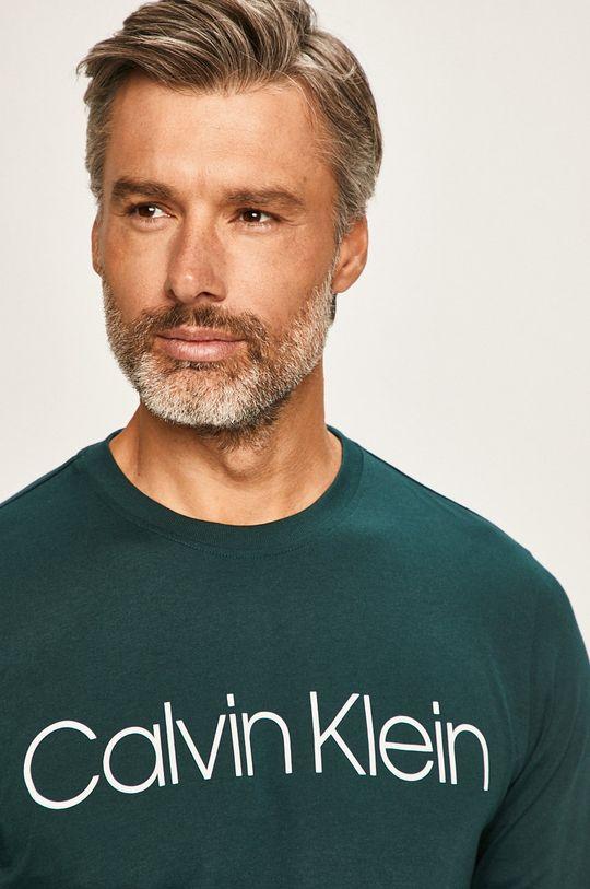 zelená Calvin Klein - Tričko s dlouhým rukávem