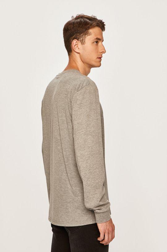 Quiksilver - Pánske tričko s dlhým rúkavom  35% Bavlna, 65% Polyester