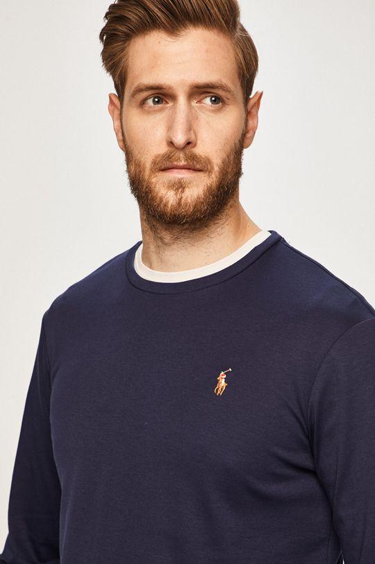 námořnická modř Polo Ralph Lauren - Tričko s dlouhým rukávem Pánský