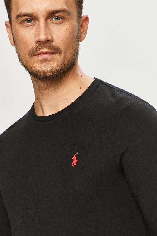 černá Polo Ralph Lauren - Tričko s dlouhým rukávem Pánský