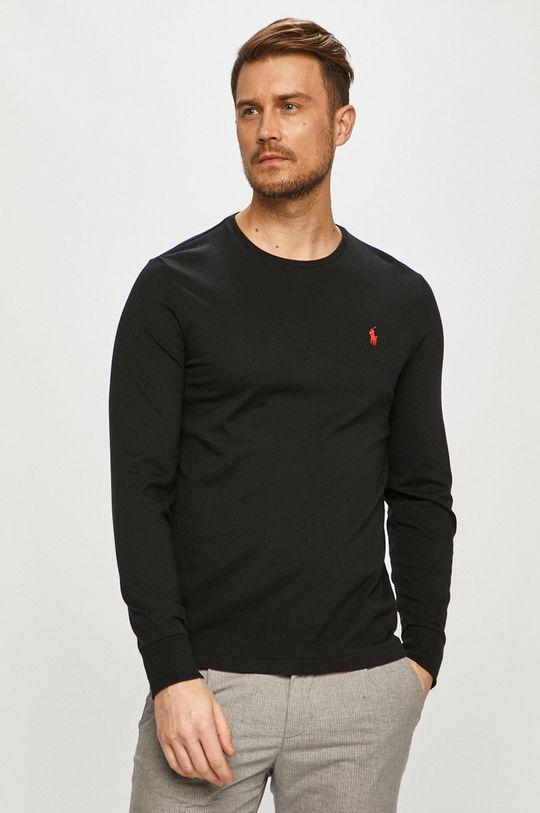 černá Polo Ralph Lauren - Tričko s dlouhým rukávem