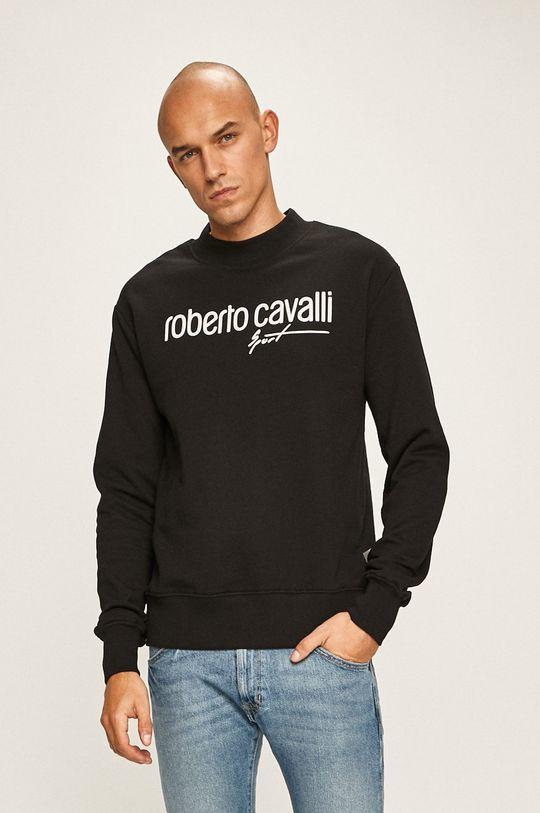 negru Roberto Cavalli Sport - Bluza De bărbați