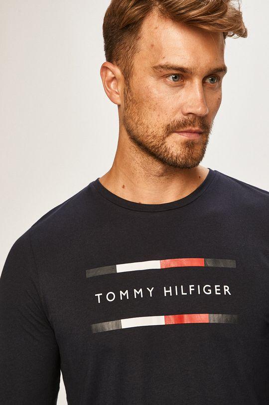 granatowy Tommy Hilfiger - Longsleeve
