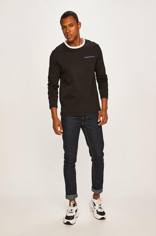 Calvin Klein Jeans - Longsleeve negru