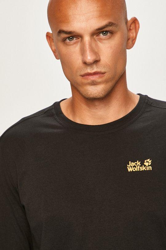 černá Jack Wolfskin - Tričko s dlouhým rukávem