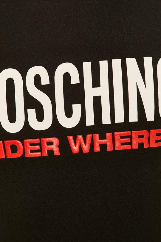 černá Moschino Underwear - Pyžamové tričko