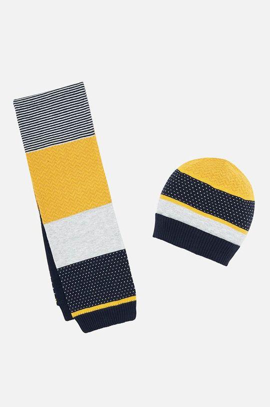 жълт Mayoral - Детска шапка и шал 80-92 cm Момче