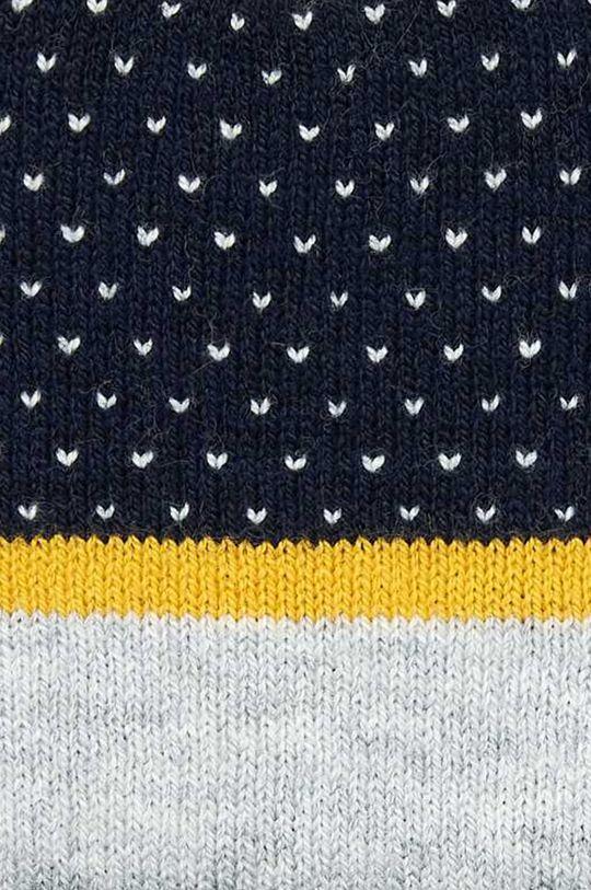 Mayoral - Детска шапка и шал 80-92 cm жълт