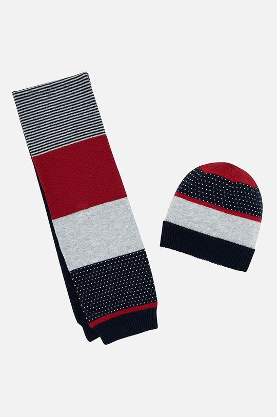 червен Mayoral - Детска шапка и шал 10643.3E.baby Момче